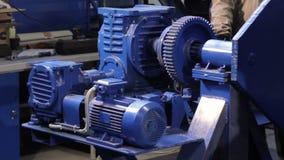 电作动器工作 传动箱工作 电镀马达驾驶传动箱 股票视频