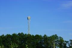 电信发射机 库存照片