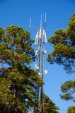 电信塔在挪威 免版税库存图片