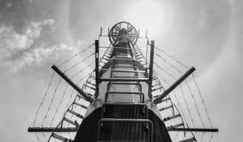 电信塔或磁单极子 库存图片