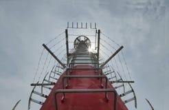 电信塔或磁单极子 免版税库存照片