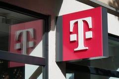 电信连锁店分支在汉诺威德国 免版税库存图片