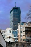 电公司大厦。 贝尔格莱德。 免版税库存照片
