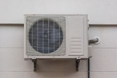 电冷空气的压缩机 库存照片