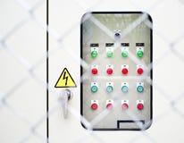 电力控制板 免版税库存图片