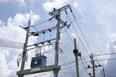 电力控制系统 库存照片