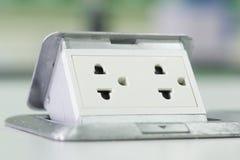 电力插座 图库摄影