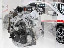 电力机车引擎 免版税图库摄影