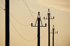 电力输送 库存图片