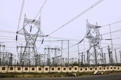 电力,印度 库存照片