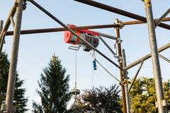 电升降机 免版税库存照片