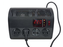 电压安定器家庭 免版税库存照片