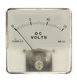 电压表 免版税库存照片