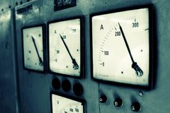 电压 免版税图库摄影