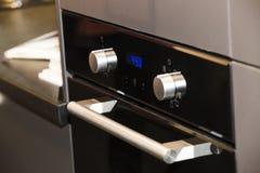 电厨房烤箱 库存图片