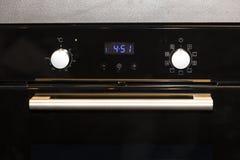 电厨房烤箱 免版税库存图片