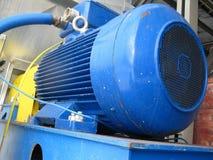 电发动机风扇 免版税库存照片