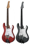 电吉他红色二 免版税图库摄影
