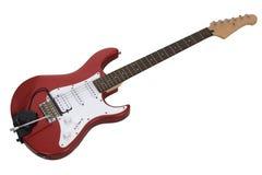 电吉他红色 免版税库存照片
