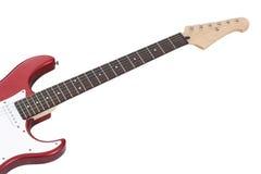 电吉他红色 库存照片