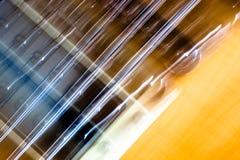 电吉他葡萄酒 库存照片