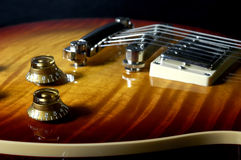 电吉他 免版税库存照片