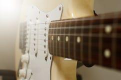电吉他宏指令摘要 图库摄影