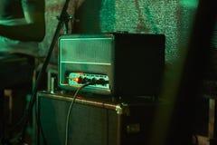 电吉他的放大器 图库摄影