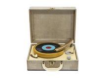 电唱机被隔绝 免版税库存照片