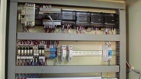 电在工厂工业机械 股票录像