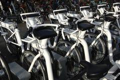 电城市自行车 免版税库存照片