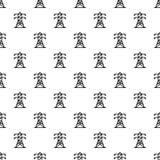 电塔样式无缝的传染媒介 库存例证