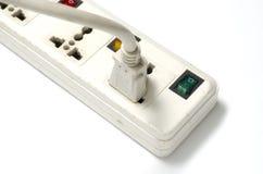 电多个电器插座 免版税图库摄影
