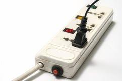 电多个电器插座 库存图片