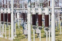 电大功率系统变压器 库存图片