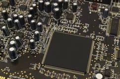 电子元件板材  免版税库存照片