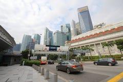 电子公路定价ERP系统新加坡 免版税库存照片