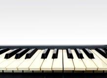 电子关键董事会钢琴 免版税库存照片