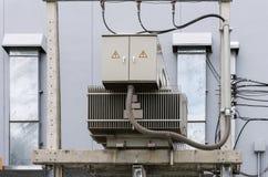 电子变压器单位 免版税图库摄影