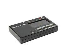 电子吉他和低音条频器 库存图片