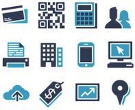 电子商务图标 免版税图库摄影