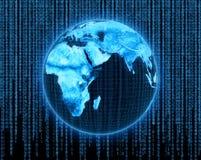 电子地球 免版税库存照片
