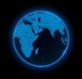 电子地球 图库摄影