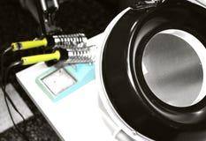 电子实验室 免版税图库摄影