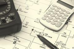电子工程学 免版税库存图片