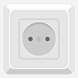 电子插口 库存例证
