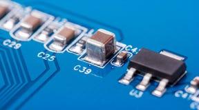 电子收藏-计算机电路板 免版税图库摄影