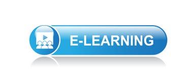 电子教学按钮 向量例证