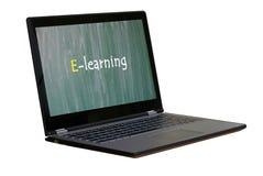 电子教学 免版税库存图片