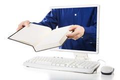 电子教学 库存照片